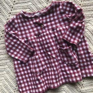 Zara baby girl ginghams dress